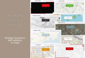 MX_maps - Joomla module