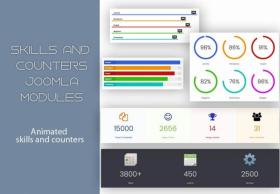 Skills&Counters - Mixwebtemplates