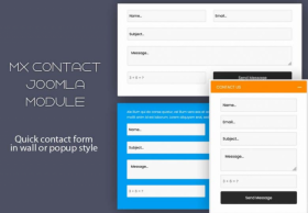 MX Quick Contact - Joomla Module