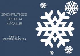 Snowflakes Module FREE- Mixwebtemplates