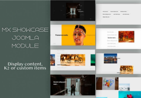 Mx Showcase Joomla Module