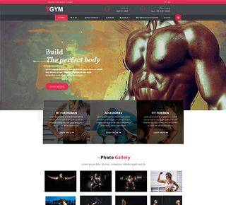 Gym- Multipurpose Joomla Template