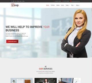 JUUP -  Business Joomla Template