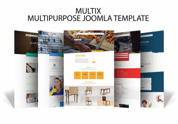 Multix- Multi Services Joomla Template