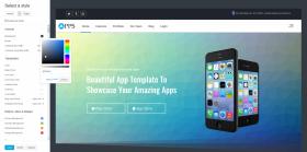 Apps - App Landing Joomla Template