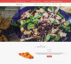 Delicious - Restaurant Joomla! Template.