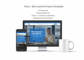 Fenix - Best Joomla Finance Template