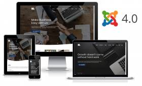H4 - Business Joomla 4x Template