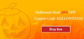Halloween Deal: 20% OFF for All Products