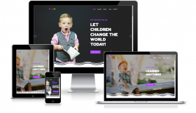 Kids- Joomla Template for Kindergartens and Elementary Schools