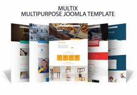 Multix- Multi Services Joomla Template