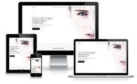 Pure - multi-purpose minimal design Joomla template