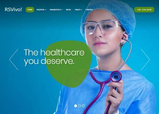 RSVivo! - Medical Joomla template