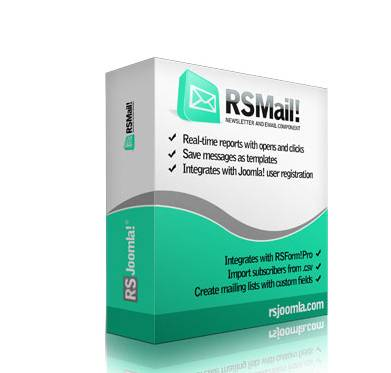 RSMail! - Joomla!® Newsletter and Email extension