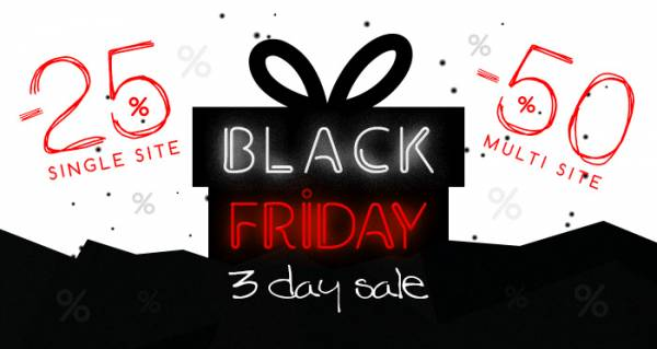 Black Friday: Up to 50% Off RSJoomla! Extensions and Templates