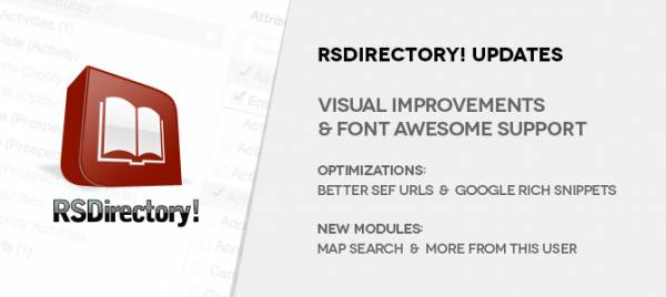 RSDirectory! look and usability considerably improved - Check out version 1.6.0