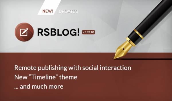 RSBlog! new design - TIMELINE theme