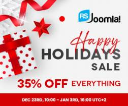 RSJoomla! wishes you a Merry Christmasand a Happy New Year!