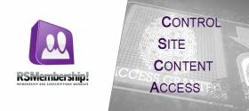 Controlling site content access through RSMembership!