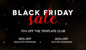 Black Friday - 70%OFF to Template Club