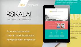 RSKala! Responsive Template for Joomla! 3.x