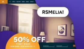 RSMelia! - Modern Hotel Booking Template
