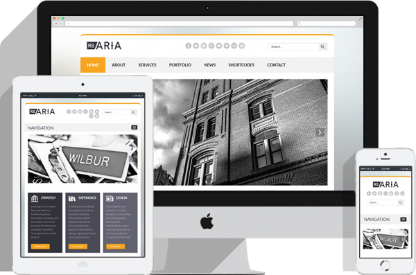 RSAria! Responsive Template for Joomla! 2.5 and 3.x