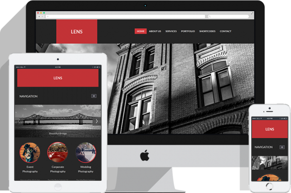 RSLens! Responsive Template for Joomla! 2.5 and 3.x