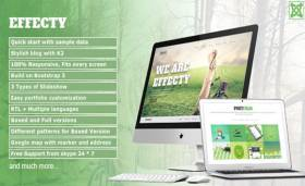 Effecty - Responsive Single Page Joomla Theme