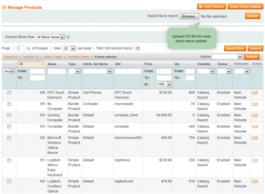 Manage Magento Inventory fast and easily!