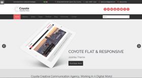 Coyote - Responsive Business Joomla Template
