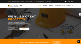Housebuild - Construction Joomla Template