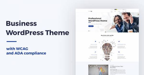 WCAG & ADA business WordPress theme