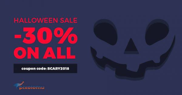 Ready for a frightful Halloween 2018 WordPress theme discount? Save -30% on all!