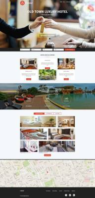 PE Hotel WordPress theme