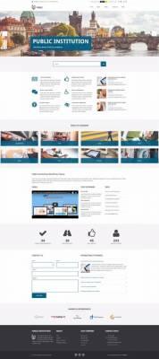 PE Public Institutions WordPress Theme