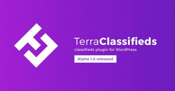 TerraClassifieds free classifieds plugin for WordPress