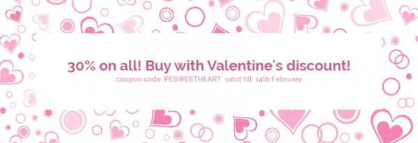 Valentine's Day deal! Buy WordPress themes with high discount!