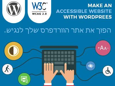 Make an accessible website with Wordpress!