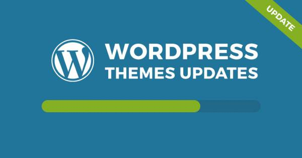 WordPress themes updated