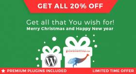 Christmas & New Year WordPress themes sale!