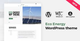 Eco Energy WordPress theme