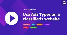 Video guide - how to use Ads Types in TerraClassifieds