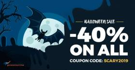 Spooky Halloween deal - all WordPress themes are 40% OFF