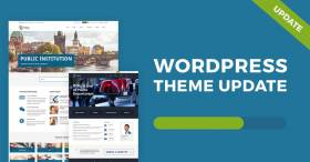 Public Institutions - WCAG and ADA WordPress theme updated