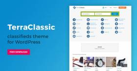 TerraClassic - Free WordPress theme