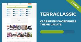TerraClassic WordPress theme 1.06 update