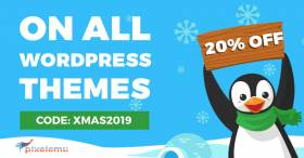 Christmas 2019 sale on WordPress WCAG and ADA themes.