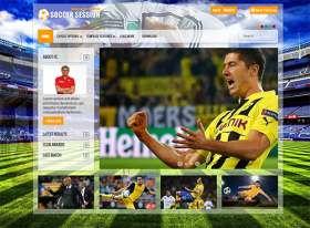 Football - Joomla Template Free