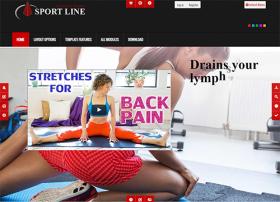 Sportline - Joomla! Template